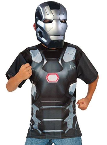 Rubie's Costume Captain America: Civil War – War Machine Child Top and Mask, Large