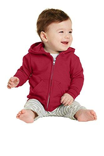 Clementine Baby Infant Premium Fleece Zip Sweatshirt Hoodie