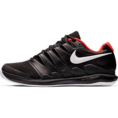 Nike Air Zoom Vapor X Cly, Scarpe da Tennis Uomo, Multicolore (Black/White/Bright Crimson 016), 42 EU