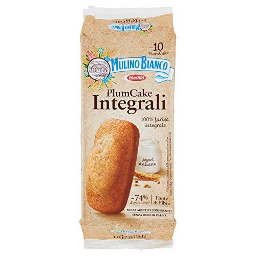 Mulino Bianco Merendine Plumcake Integrale con Yogurt, Snack Dolce per la Merenda - 330 gr