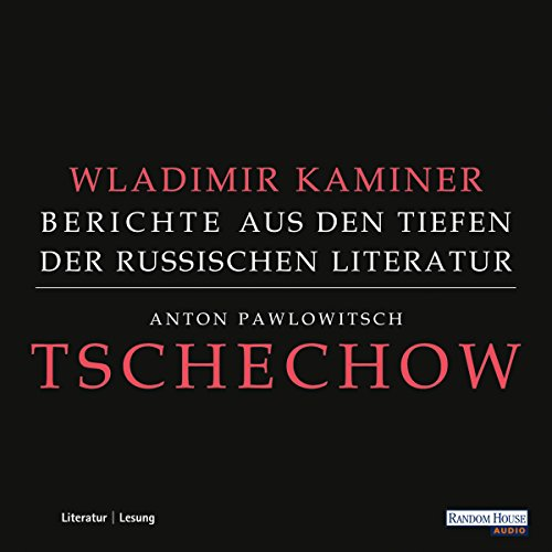 Tschechow audiobook cover art