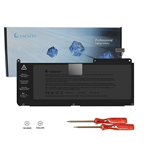 CSEXCEL New Laptop Battery for MacBook pro A1382 A1286 (only for Core i7 Early 2011 Late 2011 Mid 2012) Unibody MacBook Pro 15' i7, Also fit 661-5476 661-5211+ Free Screwdrivers - 12 Months Warranty