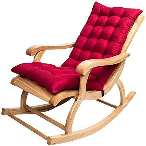LINRUS Reemplazo de cojín de Silla de Ocio clásico sillón reclinable Grueso Viaje Vacaciones Interior cleisure cojín reclinable sin Silla