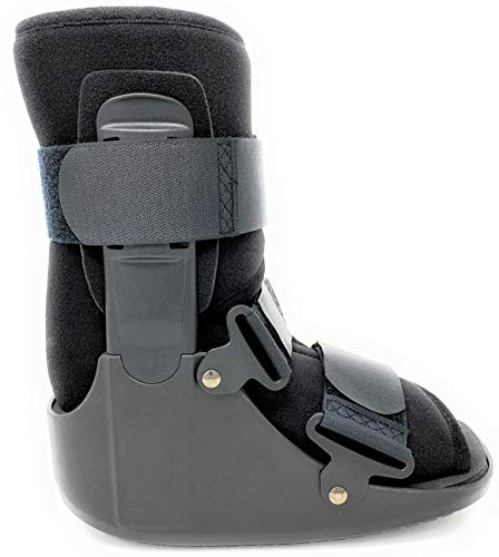 Superior Braces (Size Medium) Low Top, Non-Air, Low Profile Medical Orthopedic Walker Boot for Ankle & Foot Injuries, Male Shoe Size 7 1/2 - 10, Female Shoe Size 8 1/2 - 11 1/2