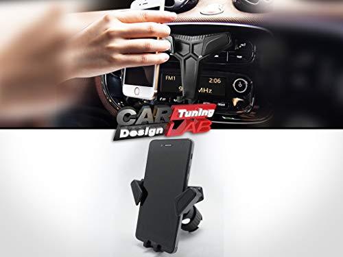 Telefoonhouder voor in de auto – universele telefoonhouder voor autoradiohouder – dashboardhouder voor mobiele telefoon, smartphonehouder voor in de auto, geschikt voor LHD- en RHD-auto's, auto-interieuraccessoires, accessoires voor slimme auto's