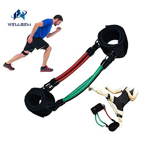 Sconosciuto Wellsem - Fasce di Resistenza per Allenamento di velocità e agilità, per Atleti, Calcio, Pallacanestro