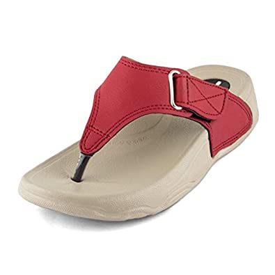 WELCOME Women's Leather Fashion Sandals
