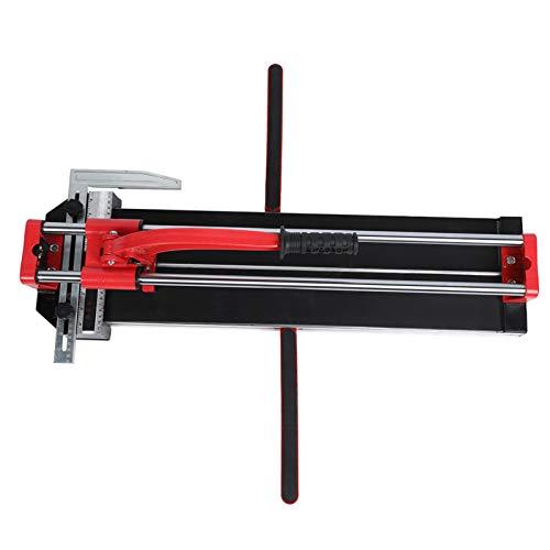 DERCLIVE Máquina de corte de azulejos manual de aleación de aluminio de doble riel de 600 mm