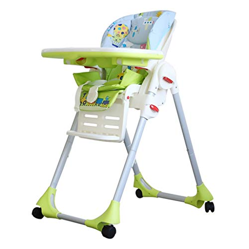 Affordable Cute Baby Chair and Booster, Foldable High Chair, Multi-Function Foldable High Chair and ...