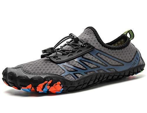 SINOES Zapatos de Agua Aqua Yoga para Mujer Hombre Descalzo Piel Calcetines de Buceo Natación Secado rápido Agua Calcetines para la Playa de natación Surf
