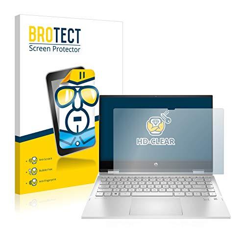 brotect Pellicola Protettiva Compatibile con HP Pavilion x360 14-dw0011nl Pellicola Trasparente Anti-Impronte