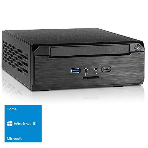 KCS [182109] Mini-PC Intel Celeron N3150 4x2.08 GHz Turbotakt | 8GB | 240GB SSD | Intel HD Grafik | ASUS | DVD | Sound | LAN | Win10 | Stromspar-PC