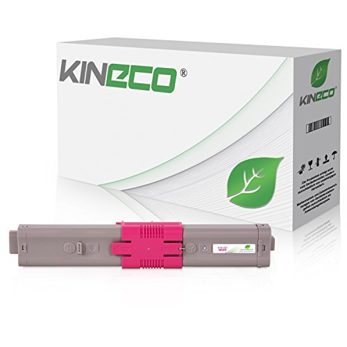 Kineco Toner kompatibel mit Oki C532dn MC563dn C542-DN MC573-DN Magenta 6.000 Seiten
