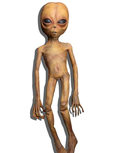 LIL MAYO Alien Doll Statue Prop - Rubber and Foam (Flexible) 3.8ft