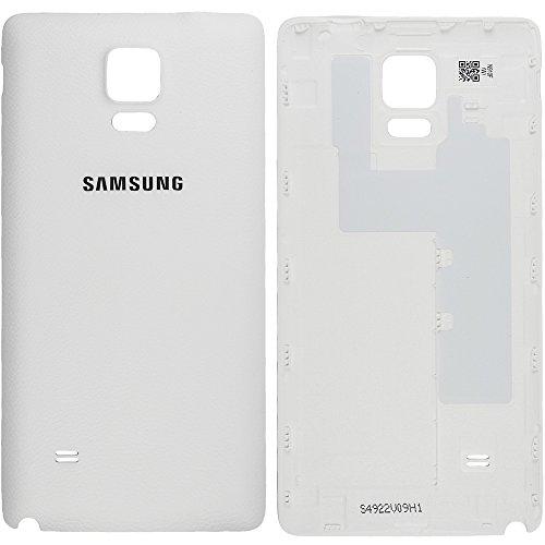 Original Samsung Cobertor de Batería Blanco , Para Samsung N910F Galaxy Note 4 - Tapa de Batería - Cobertor Trasero GH98-34209A