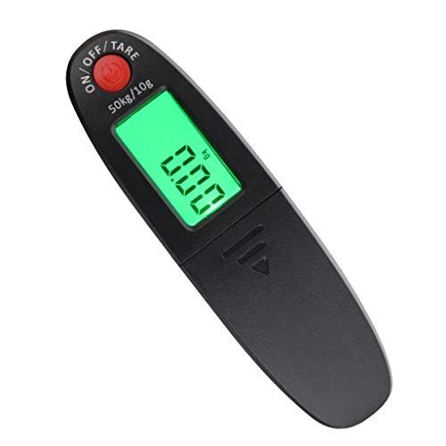 Hellery Básculas de Pesca Digitales Portátiles Electrónicos Pesan Carpas 110lb0-50 Kg Báscula de Equipaje