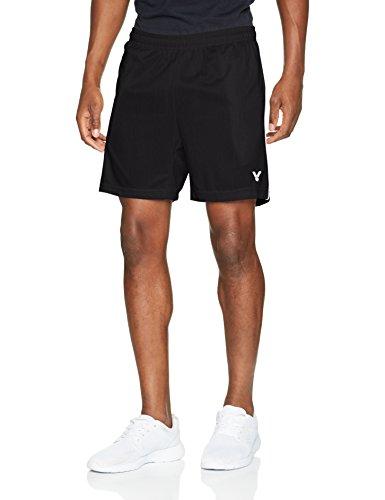 VICTOR Herren Function 4866 Shorts, Schwarz, L