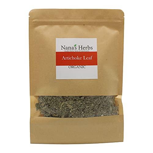 Artichoke Leaf Organic Kosher - 4oz Resealable Bag Hoja De Alcachofa Organica 4oz