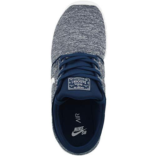 Nike Stefan Janoski MAX, Zapatillas de Deporte Hombre, Azul (Blue Void/White 405), 45 EU