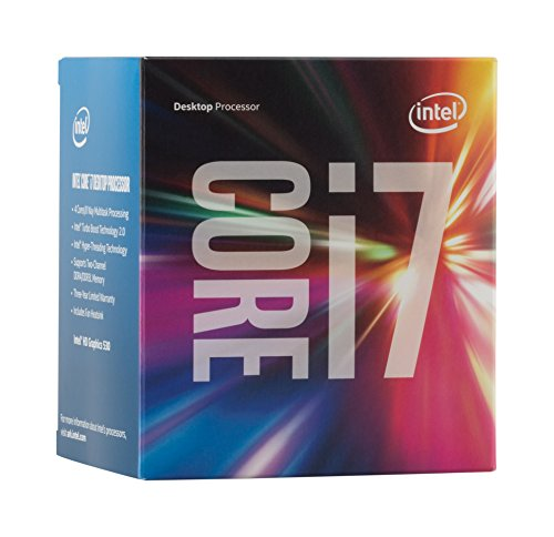 Intel BX80662I76700 - Procesador i7-6700 (Quad-Core, 3.4 GHz, 8 MB), Color Azul