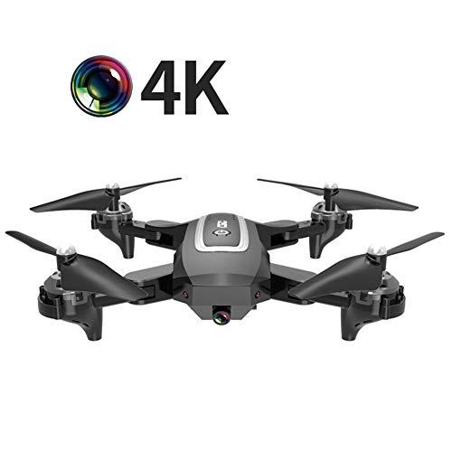 W-star Eanling by FPV Drohne mit 4K HD Kamera und GPS Return Home,RC Quadrocopter ferngesteuert mit live Übertragung,Lange Flugzeit,Follow Me,Handysteuerung Coming Home für Anfänger,Schwarz