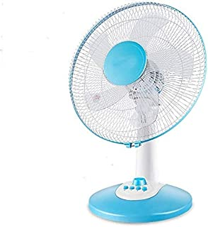 Turbo Silence Oscillating Table Fan Powerful and Quiet, Shaking Head Silent Student Fan Floor Wind