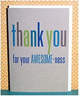 Thank You Notes -- Thank You For Your Awesome-Ness