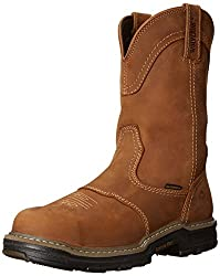 Wolverine Men's Anthem Western Wellington Steel-Toe Work Boot