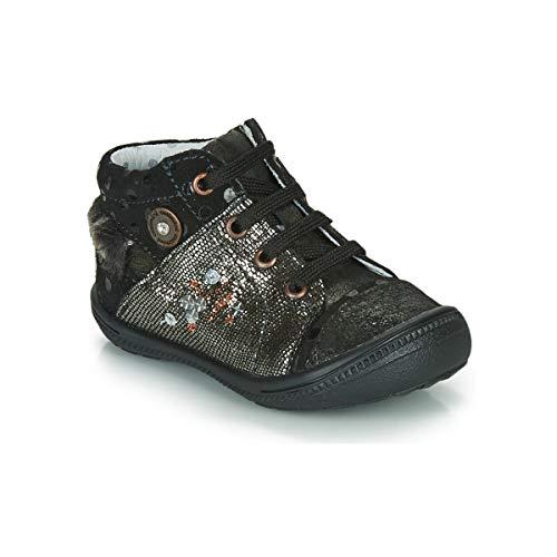 CATIMINI RIKI Enkellaarzen/Low boots meisjes Zwart/Goud Laarzen