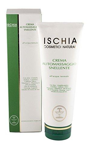 Ischia cosmétiques naturels Crème d'auto-massage palper rouler – 250 ml
