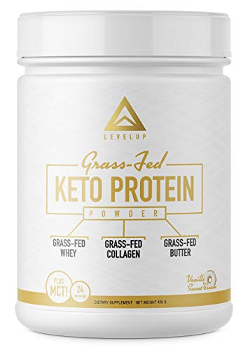 Top Pick: LevelUp – Grass-Fed Keto Protein Powder