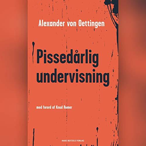 Pissedårlig undervisning cover art