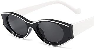 EFXGYHSAQ - Gafas De Sol Hombre Mujeres Ciclismo Gafas De Sol para Mujer Gafas De Sol Vintage Moda Cóncava Retro Gafas Verdes Hombres