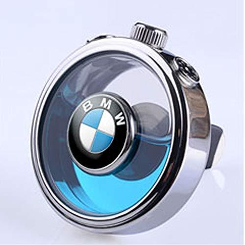 HEYCASE - Ambientador para coche, con emblema de coche, sin perfume (para B-MW)
