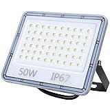 LED Strahler Außen 50W, 5000LM Superhell LED Fluter,...