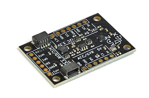 BerryIMUv3-10DOF - an Accelerometer, Gyroscope, Magnetometer and Barometric/Altitude Sensor