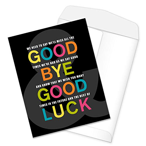 Funny Going Away Card from Group / 8.5