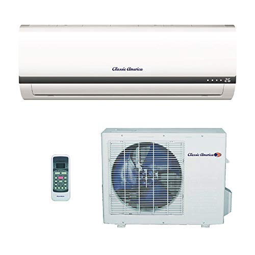 Classic America Ductless Wall Mount Mini Split...