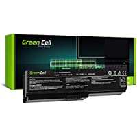 Green Cell® Standard Serie PA3817U-1BRS Batería para Toshiba Satellite C650 C650D C655 C660 C660D C670 C670D L750 L750D L755 Ordenador (6 Celdas 4400mAh 10.8V Negro)