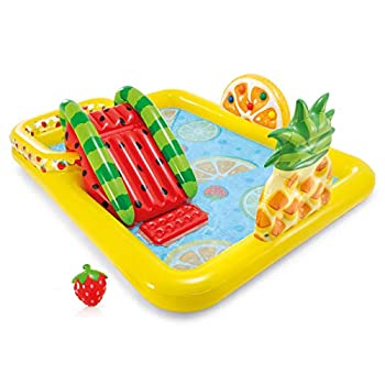 inflatable water play center