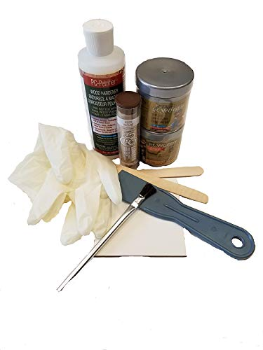 Rotted Wood Repair Kit, w/Epoxy and Paste