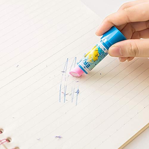 Moent Kunststoff Ecorative Lippenstift Radiergummi Neuheit Bleistift Radiergummis Für Kinder Geschenk Party Tasche Füllstoffe Büro & Briefpapier