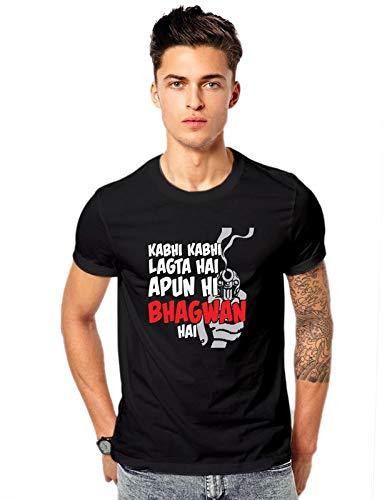 Promojo Crafter Kabhi kabhi lagta apun hi bhagwan hai Sacred Games t-Shirts