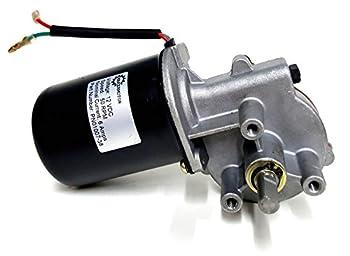 Makermotor 3/8  D Shaft 12V DC Reversible Electric Gear Motor 50 RPM