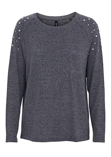 SOYACONCEPT - Damen Pullover, SC-Biara 14 (23609-30), Größe:S, Farbe:Royale (96430)
