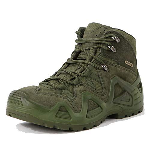 [LSDZW] デザートブーツ 27.0cm メンズ アウトドア ローカット 緑 アーミーブーツ 防水 防滑 トレッキングシューズ 耐摩耗性 通気性 登山靴 ラン キャンプ スポーツシューズ 汚れ防止 ハイキングシューズ 衝撃吸収 着脱が簡単 靴