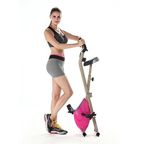 Bicicleta de spinning Montante vertical Control magnético for el hogar Bicicleta giratoria ultra silenciosa Bicicleta deportiva for interiores Equipo de ejercicios Bicicleta de ejercicio Cubie