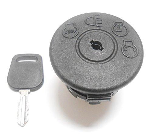 Rotary Zündschloss mit Schlüssel, Ersetzt Ayp 175.566, 163.968, Mtd 925-1741, Murray 94762, John Deere Gy20074