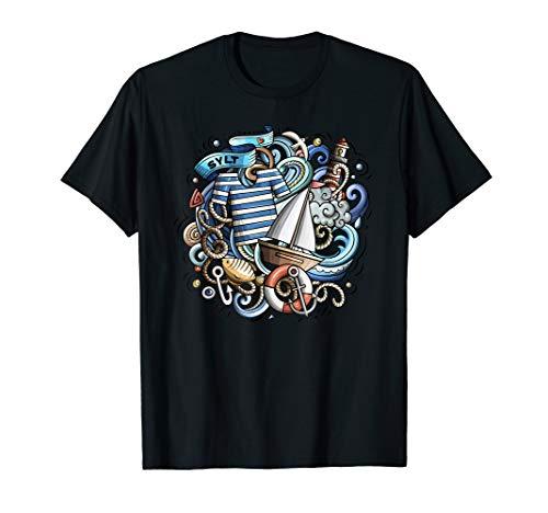 Sylt Nordsee Küste Kliff Strand Urlaub Dänemark Fun Outfit T-Shirt