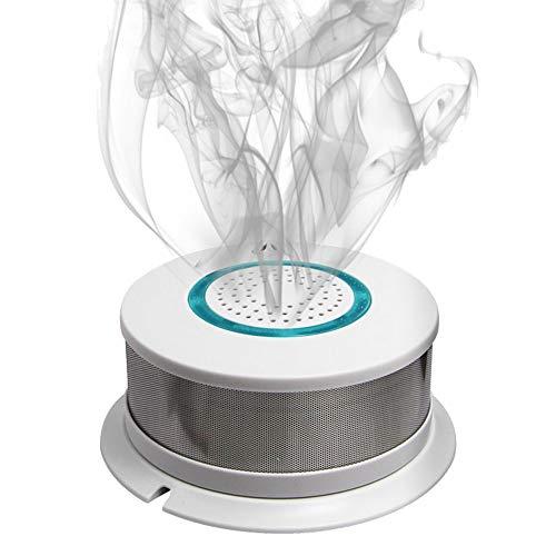 Detector De Humos Independiente, WiFi Remoto/Sonido Y El Sensor De Alarma contra Incendios Luz De Advertencia, Que Se Utiliza En El Sistema De Alarma De Seguridad De La Cocina De Casa Inteligente